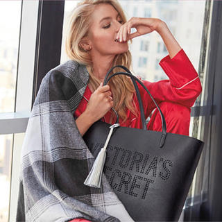 Victoria's Secret - ラス1‼️早い者勝ち‼️非売品トートバッグ VS 新品未使用 ブラック