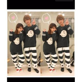SNOOPY × gelato pique コラボ チャーリー ブラウン(ニット/セーター)
