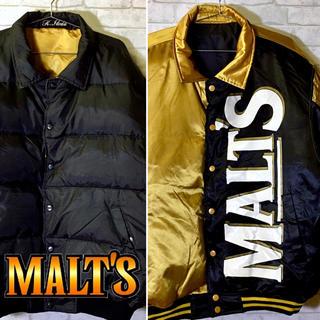 サントリー(サントリー)の【MALT'S】モルツ サントリー ダウンジャケット リバーシブル 肉厚アウター(ダウンジャケット)