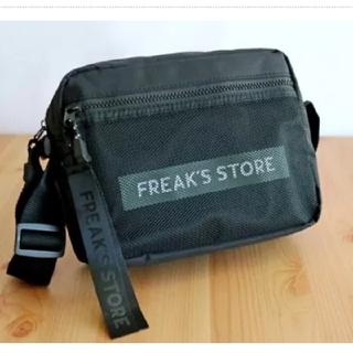 フリークスストア(FREAK'S STORE)の未使用 FREAK'S STORE ロゴチャーム付き ショルダーバッグ  (ショルダーバッグ)