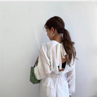 新品 大人気 トレンド ゆったりする スプリット 透けて シャツ ホワイト(シャツ/ブラウス(長袖/七分))