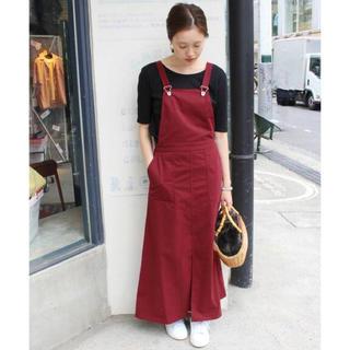 IENA SLOBE - slobe iena ビンテージチノジャンパースカート