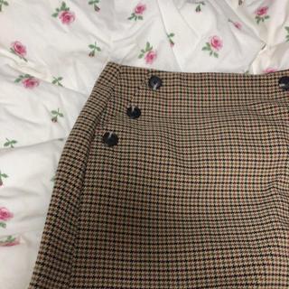 LOWRYS FARM - チェック スカート