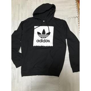 adidas - 【新品】adidas・黒・パーカー・XL