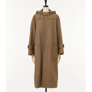 AURALEE WOOL SILK MELTONLONG DUFFLE COAT