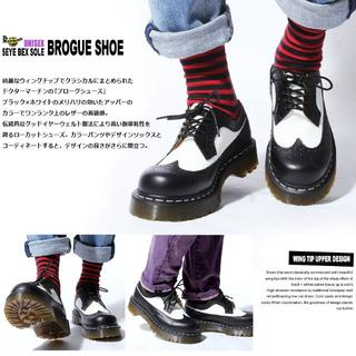 Dr.Martens - Dr.Martens 3989 BROGUE BEX UK8  ウィングチップ