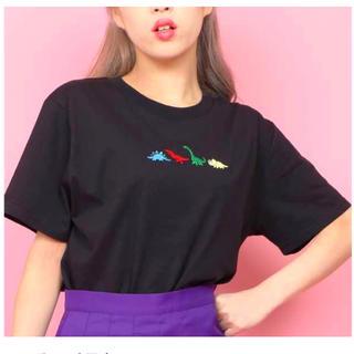 WEGO - WEGO ザウルスTシャツ ブラック