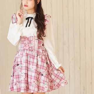 Ank Rouge - アンクルージュ 花柄スカート新品