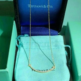 Tiffany & Co. - ティファニーT スマイル ネックレス