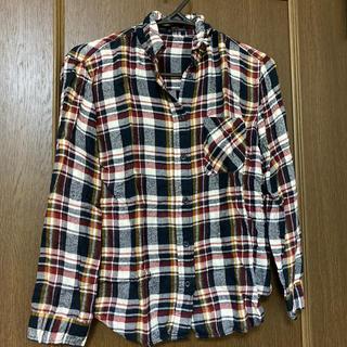ヘザー(heather)のヘザー チェックシャツ(シャツ/ブラウス(長袖/七分))