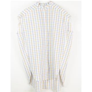 Drawer - yori  ノースリーブチェックビッグシャツ
