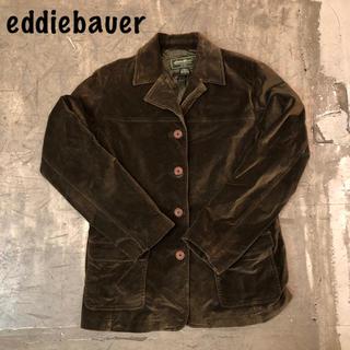 エディーバウアー(Eddie Bauer)のB51 90s eddiebauer ベロアジャケット(テーラードジャケット)