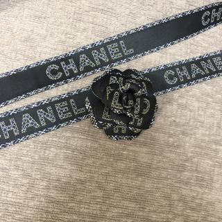 CHANEL - 130㎝強♡CHANEL リボン&カメリア ブティック ホリデー