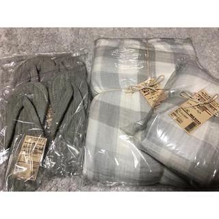 MUJI (無印良品) - 無印良品 掛け布団カバー 枕カバー