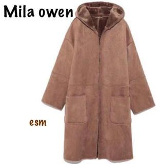 ミラオーウェン(Mila Owen)のMila Owen ☆ミラ オーウェン☆フェイクムートンコート(ムートンコート)