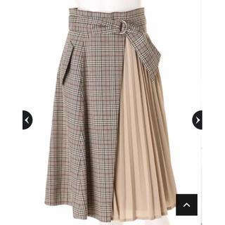 Mystrada - 雑誌掲載♡チェックプリーツスカート