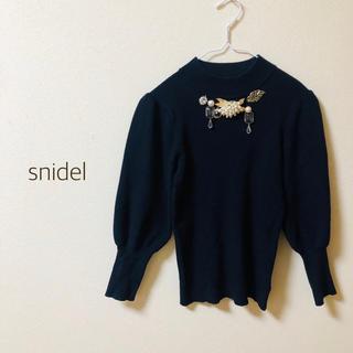 snidel - 【美品】snidel  ハイネックニット