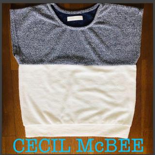 セシルマクビー(CECIL McBEE)のCECIL McBEE トップス(カットソー(半袖/袖なし))