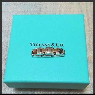 Tiffany & Co. - ティファニー K18 コンビリング
