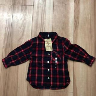 MUJI (無印良品) - 無印良品 シャツ サイズ80