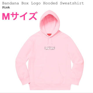 シュプリーム(Supreme)のBandana Box Logo Hooded Sweatshirt(パーカー)