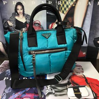 PRADA - 【正規品】極美品 ✨ PRADA プラダ ボンバー 3層式 バッグ『A4収納』