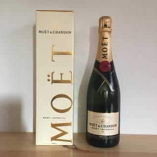 MOËT & CHANDON - 【新品箱付き】MOET&CHANDON  750ml