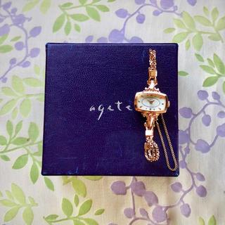 agete - agete    ㊸   腕時計・稼動品✨