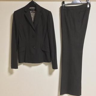 ボールジィ(Ballsey)のボールジィ パンツスーツ 38 40 ブラウン OL ビジネス 冬春 超美品(スーツ)