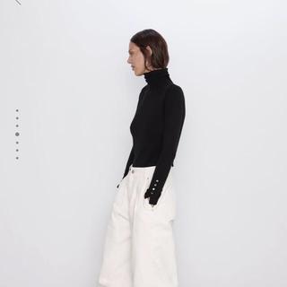 ZARA - zara ベーシックハイネックセーター