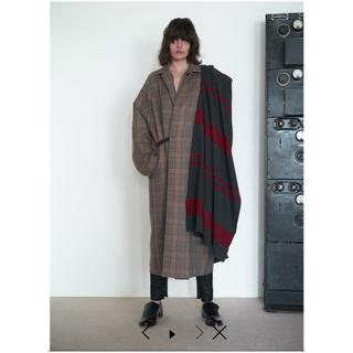 SUNSEA - SUNSEA 19AW Caramel Check Coat 【Size2】