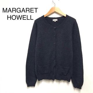マーガレットハウエル(MARGARET HOWELL)のマーガレットハウエル /美品 カーディガン ニットカーディガン(カーディガン)