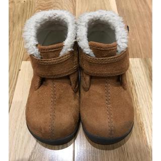 ムジルシリョウヒン(MUJI (無印良品))の美品!無印良品 ボアブーツ 14cm(ブーツ)
