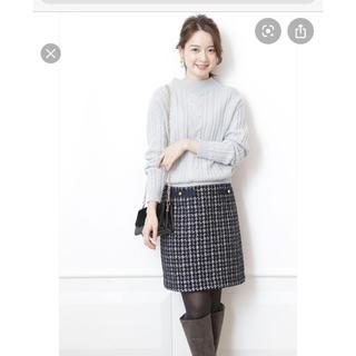 JUSGLITTY - ツイードスカート