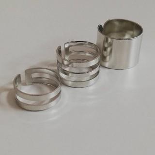 3個 指輪 ノーブランド フリーサイズ