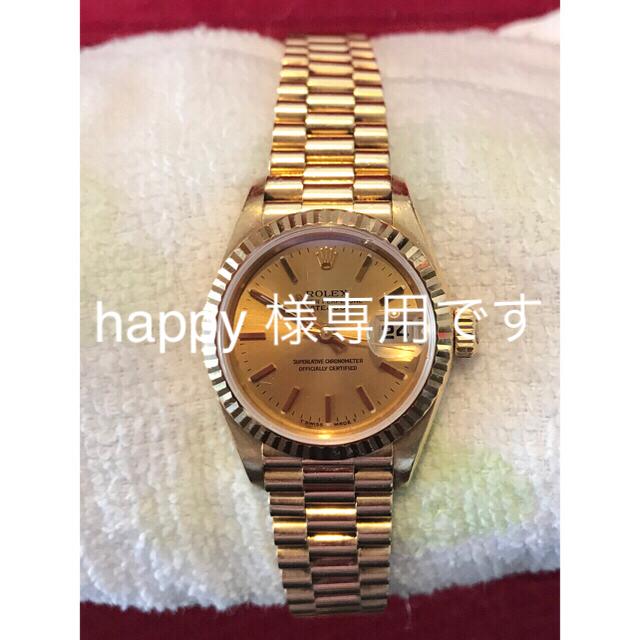 エディオン ロレックス 、 ROLEX - ロレックスレディース金無垢腕時計新春特別価格4日には元の60万にの通販 by もうむ's shop