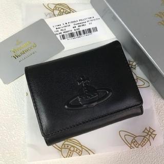 Vivienne Westwood - Vivienne Westwood 新品 レザー 二つ折り財布 ブラック
