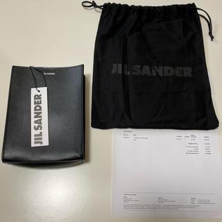 ジルサンダー(Jil Sander)の[未使用] JIL SANDER small tangle bag 黒(ショルダーバッグ)