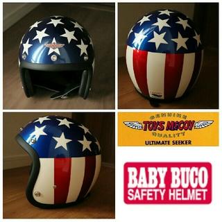 トイズマッコイ(TOYS McCOY)のBUCO キャプテン アメリカ ヘルメット 限定モデル(ヘルメット/シールド)