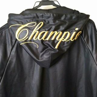 チャンピオン(Champion)の★新品★ チャンピオン ジャケット 黒 フード付き(その他)