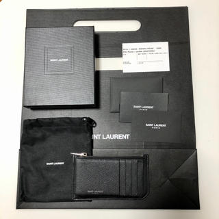Saint Laurent - SAINT LAURENT 5フラグメント カードケース