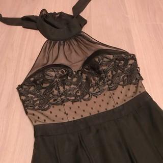 セルフポートレイト(SELF PORTRAIT)のもんたさん専用 Three Floor スリーフロア ドレス ロング 黒 (ロングドレス)