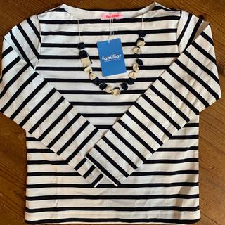 familiar - familiar  130  長袖Tシャツ