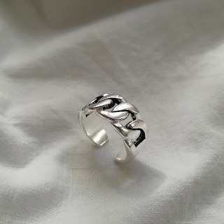 EMODA - 【NEW】925 wide chain ring *