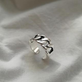 MURUA - 【NEW】925 wide chain ring *