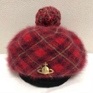 Vivienne Westwood - Vivienne Westwood モヘアベレー帽 レッド