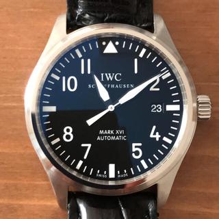 インターナショナルウォッチカンパニー(IWC)の (ダージリンティーさん専用) IWC マーク 16 本物 売切り 早い者勝ち(腕時計(アナログ))