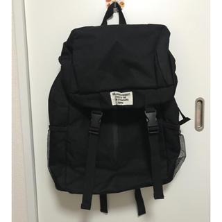 ウィゴー(WEGO)の黒 バックパック(リュック/バックパック)