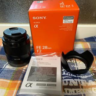 SONY - 美品:Sony FE 28mm 2.0(SEL28F20)