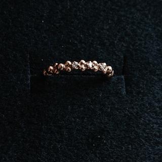 アガット(agete)のk10 ピンキーリング(リング(指輪))